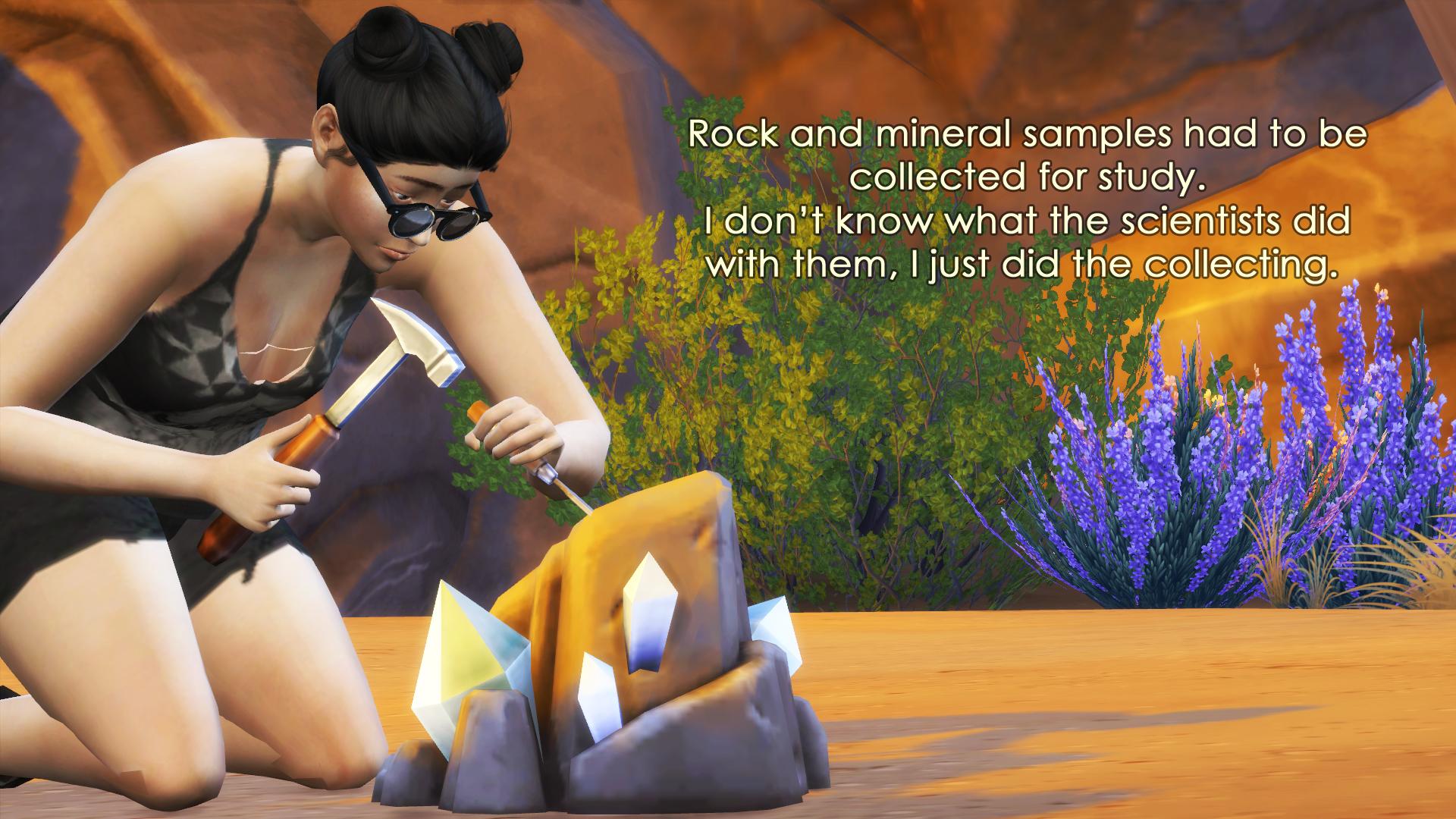 14 mineral samples