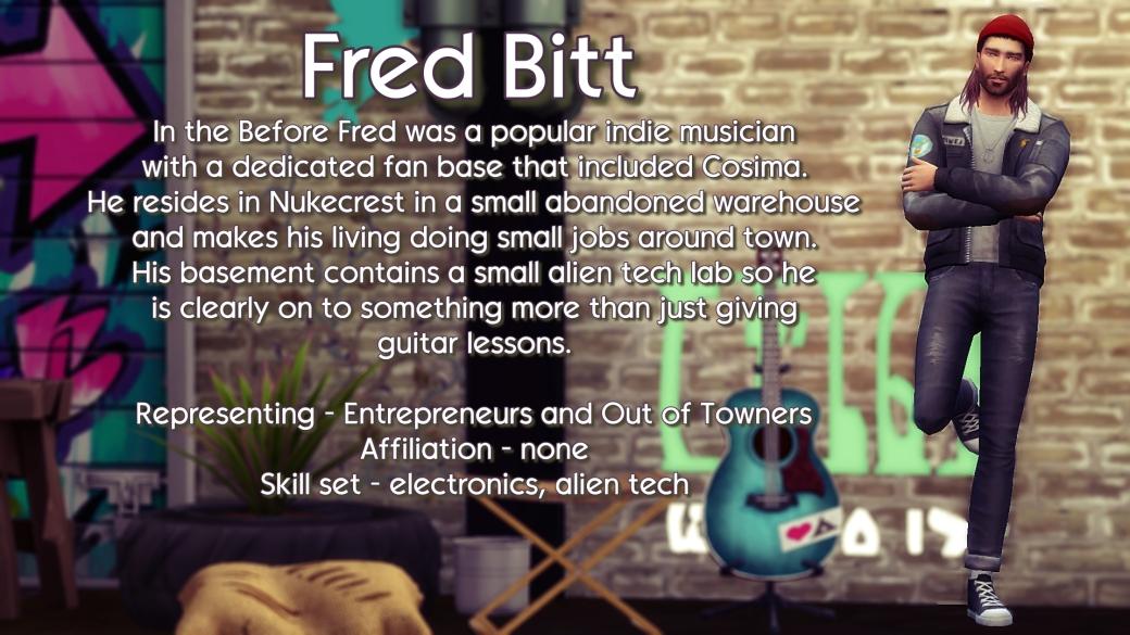 Fred Brit Bio