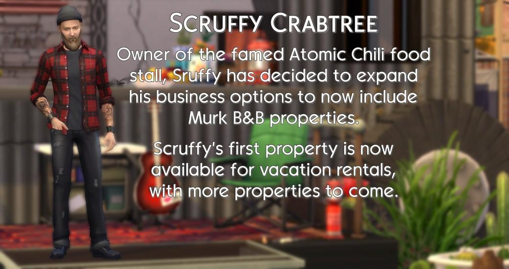 Scruffy bio info