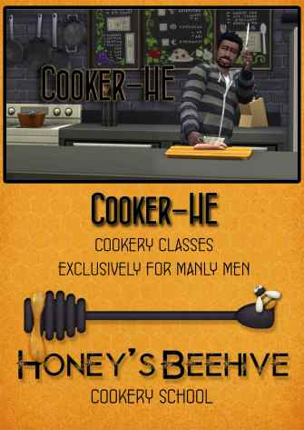 Honey's Beehive full page ad copy