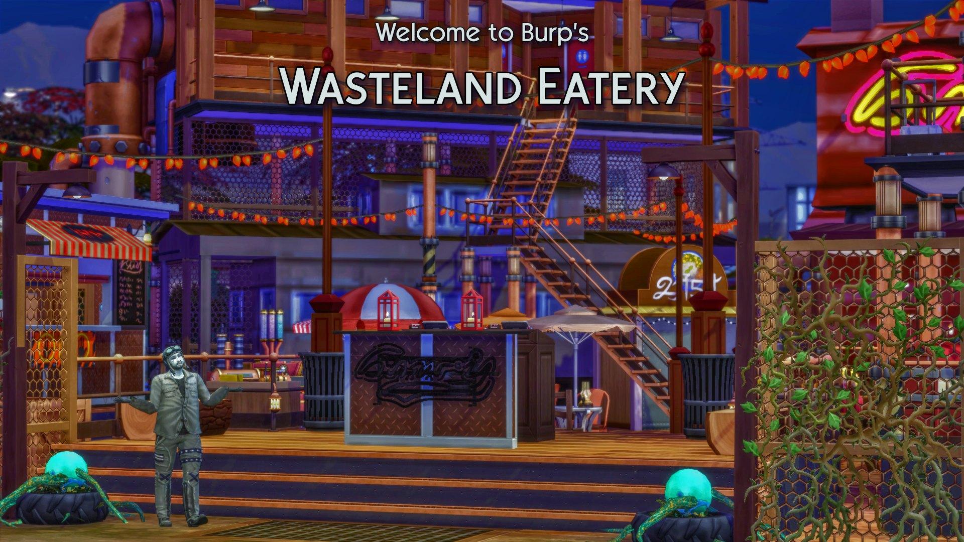 10 wasteland eatery