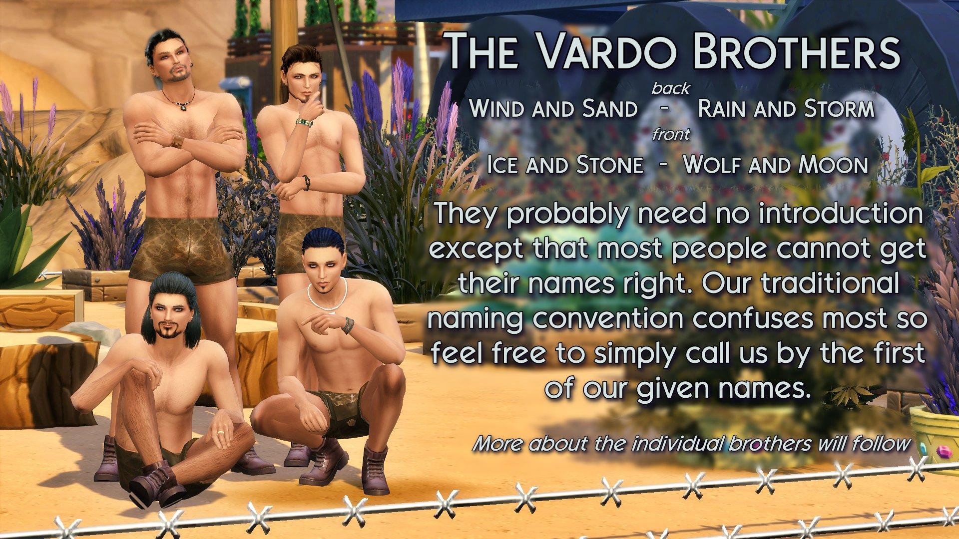 4 Vardo Brothers