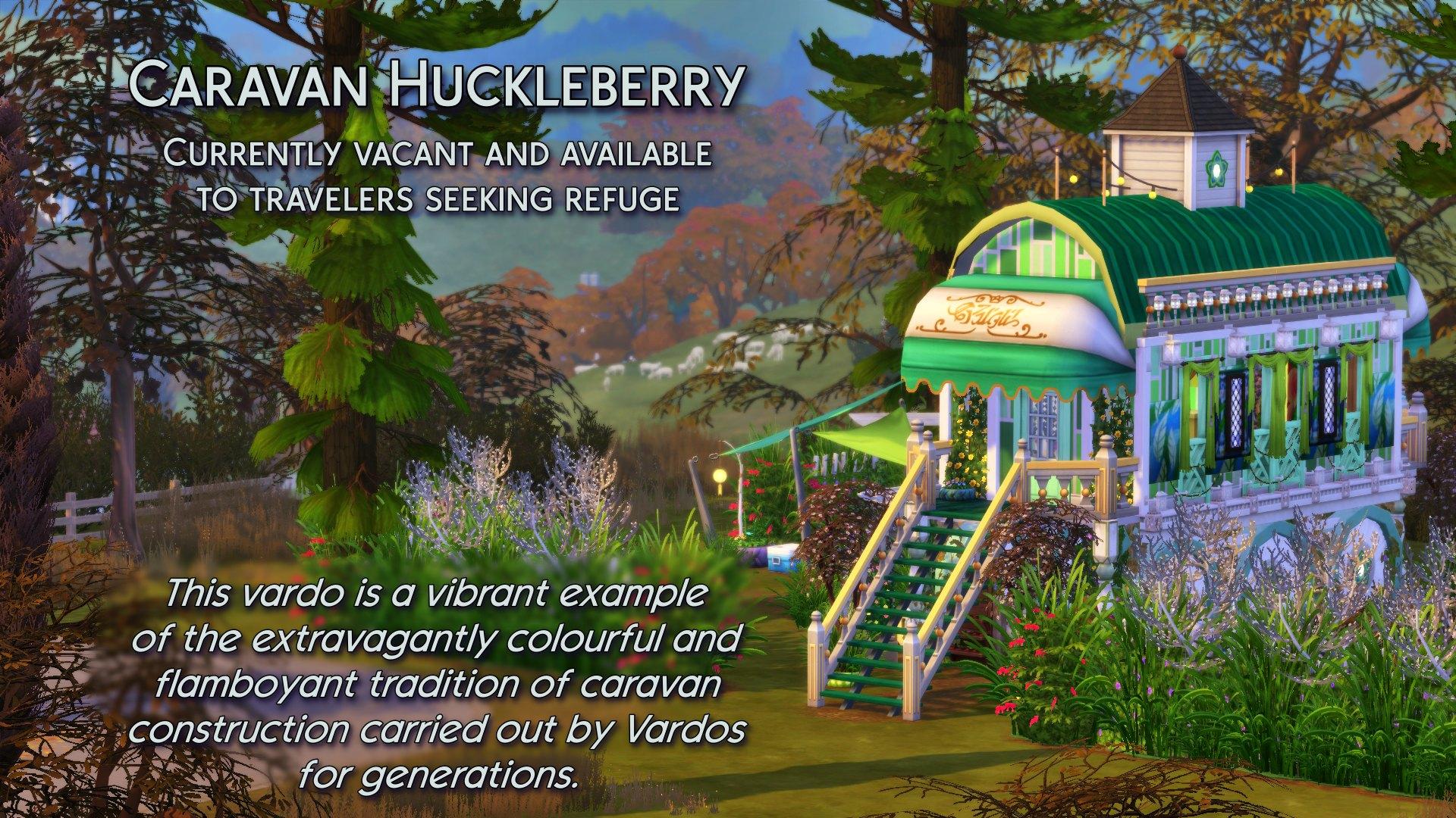 5 Caravan Huckleberry