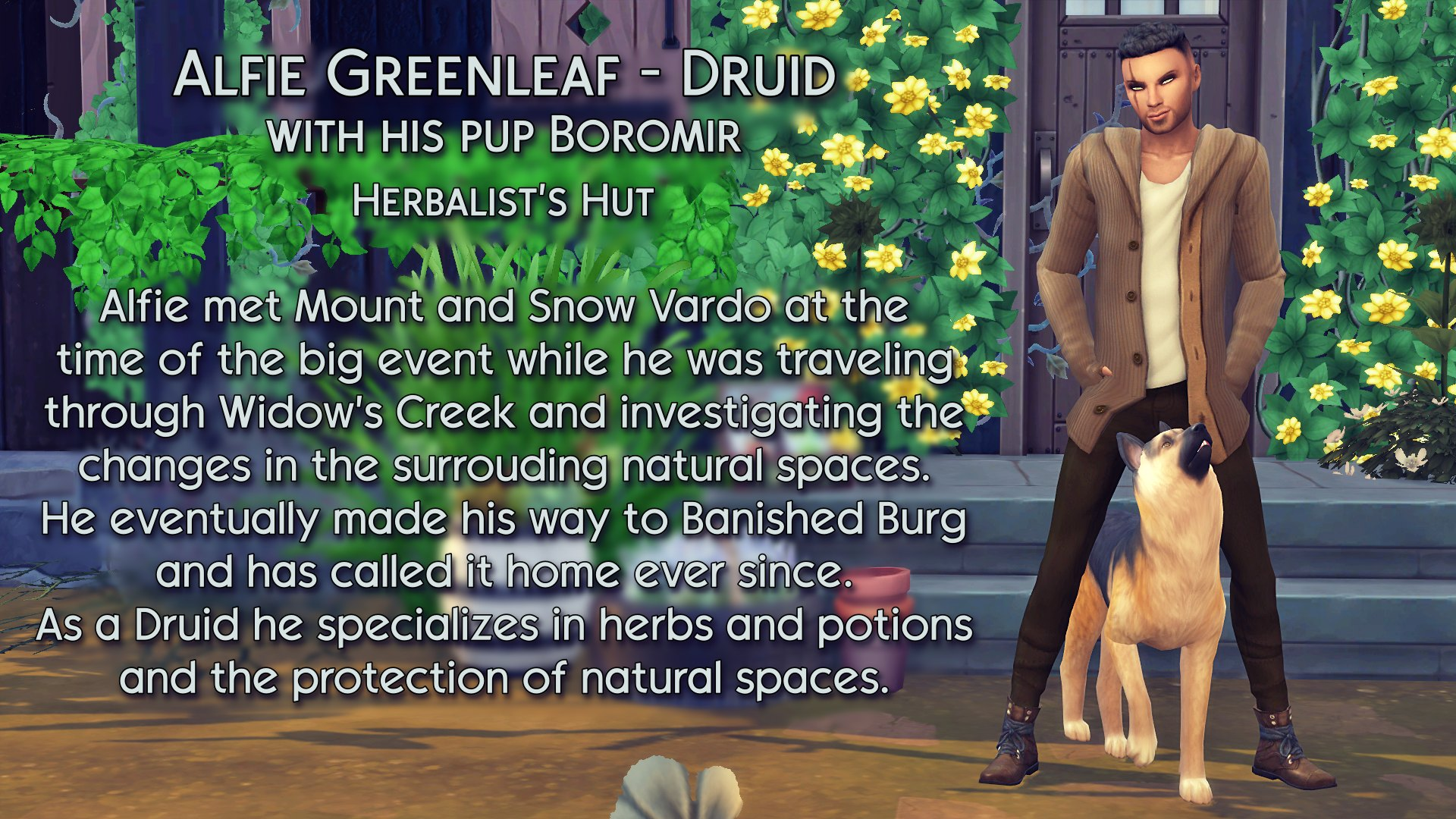 6 Alfie and Boromir