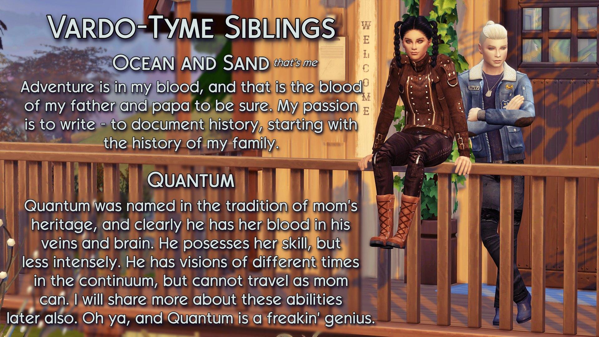 6 Ocean and Quantum siblings