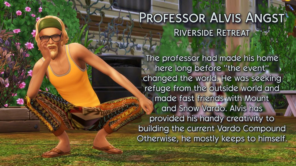 7 Professor Angst