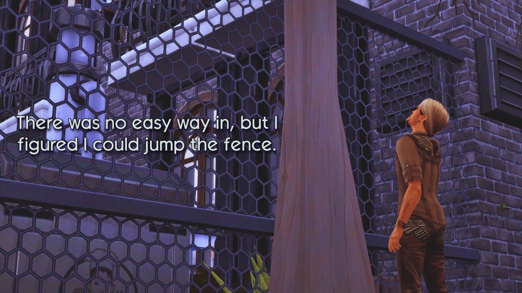84 jump the fence