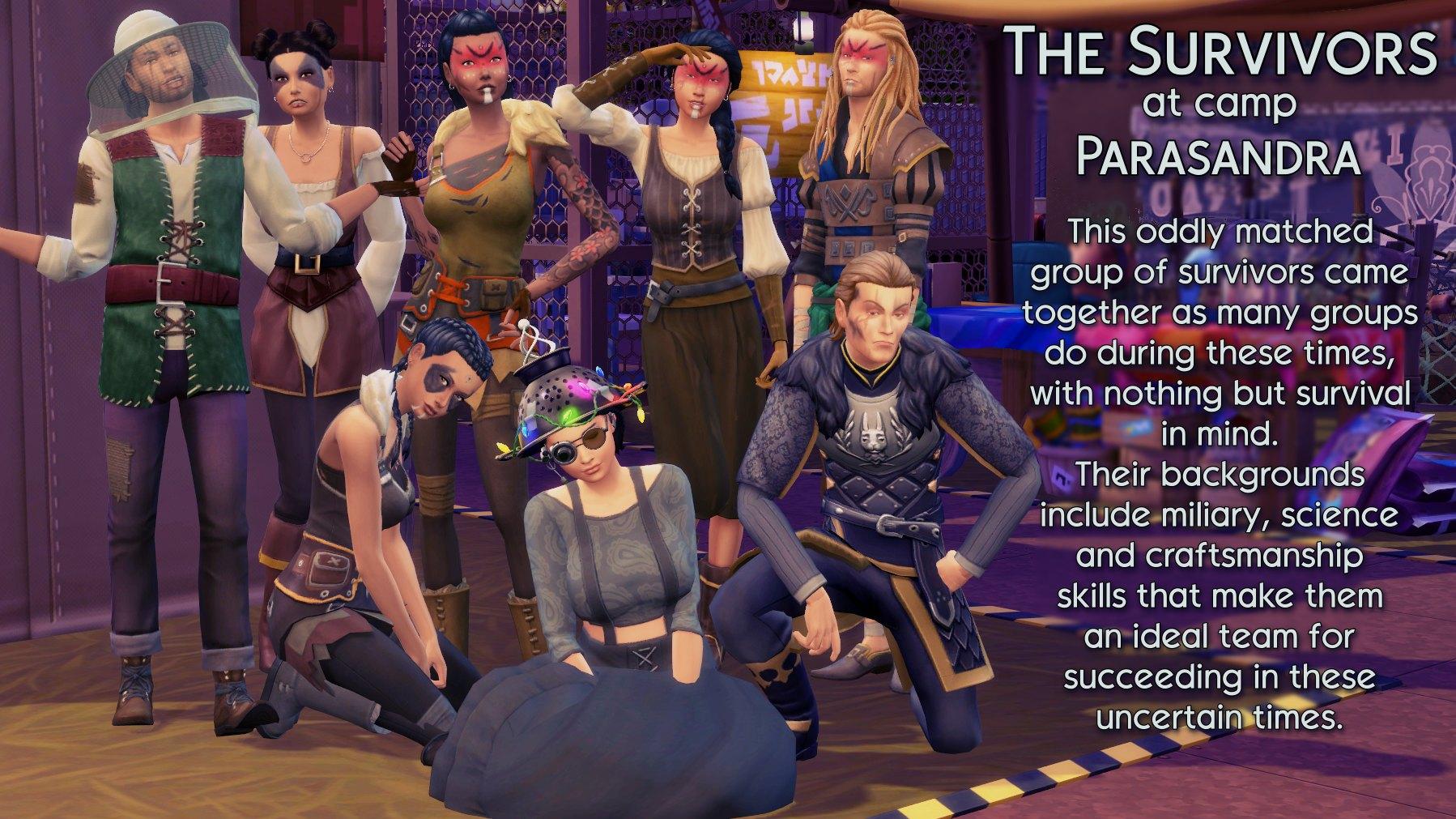 9 Survivors at Parasandra